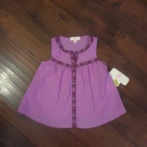 GB Gianni Bini girls NWT sleeveless top sz 5